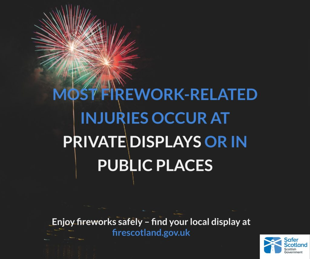 Remember, remember . . . the impact of fireworks