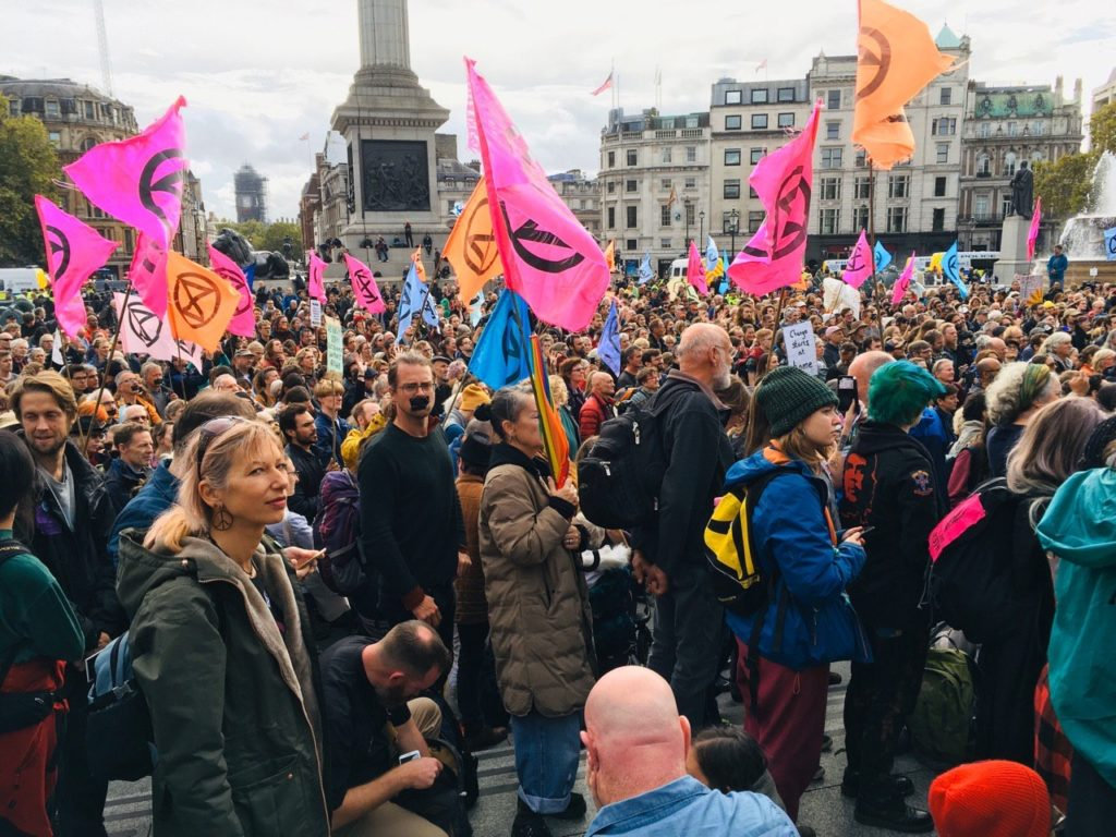 Rebels call on council to declare climate emergency