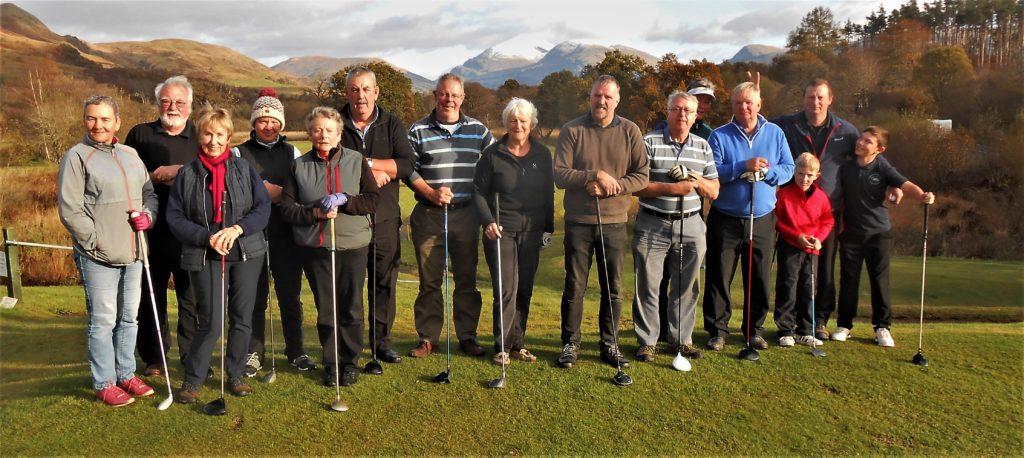 Dalmally Golf Club prizegiving