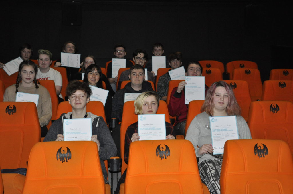 Premiere screening for Argyll film students