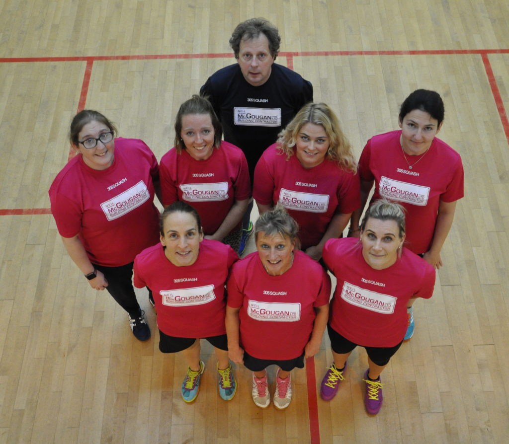 Oban squash ladies court success through social media