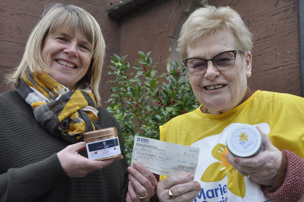 Mum says thank you to Marie Curie