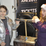 Erika Baines, from Barcaldine Primary School, and Freya Felgate, from Park Primary, had the important task of turning on this year's Christmas lights. The pair won the Rotary Club of Oban's Christmas card competition. 17_T48_WinterFestival20