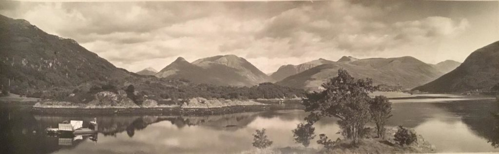 Rare panoramic views of Lochaber revealed online for first time