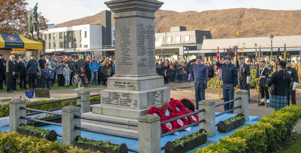 Remembrance Day: Lochaber pays homage to its war dead