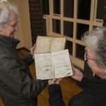 Andy and Marjory Thornton with some of the 'decorated' bibles. Photograph: Iain Ferguson, alba.photos NO F48 Ballachulish bibles 02