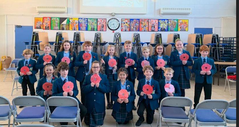 Lomond School remembers war lives lost