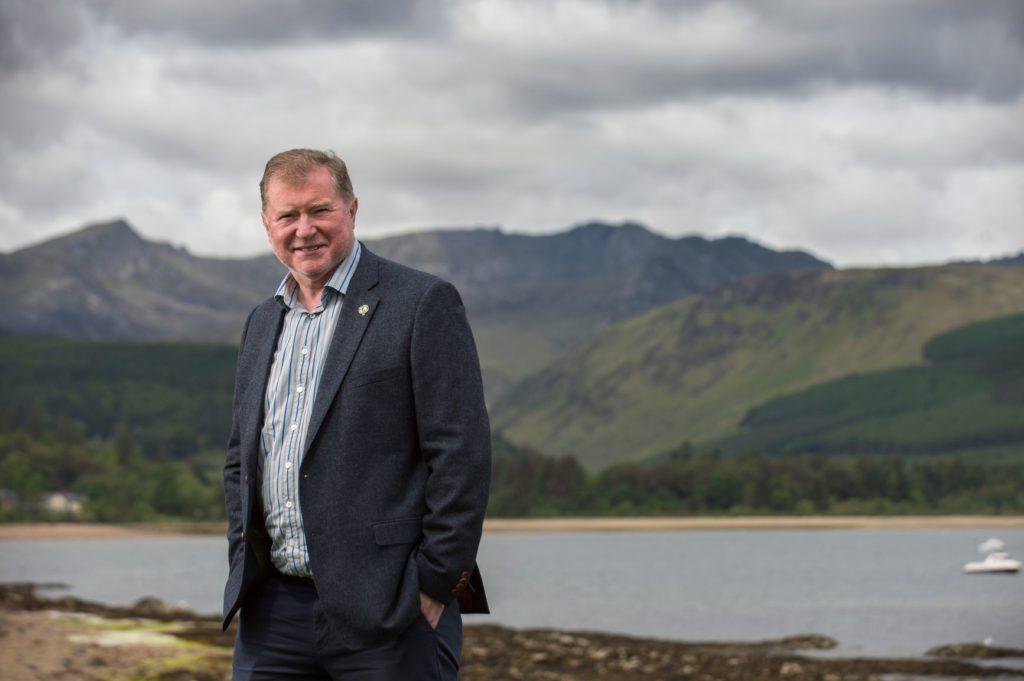 Craig Anderson, chief executive at The Scottish Salmon Company
