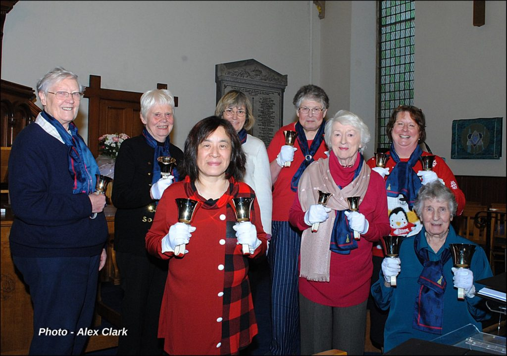 Ringing out good cheer in Oban