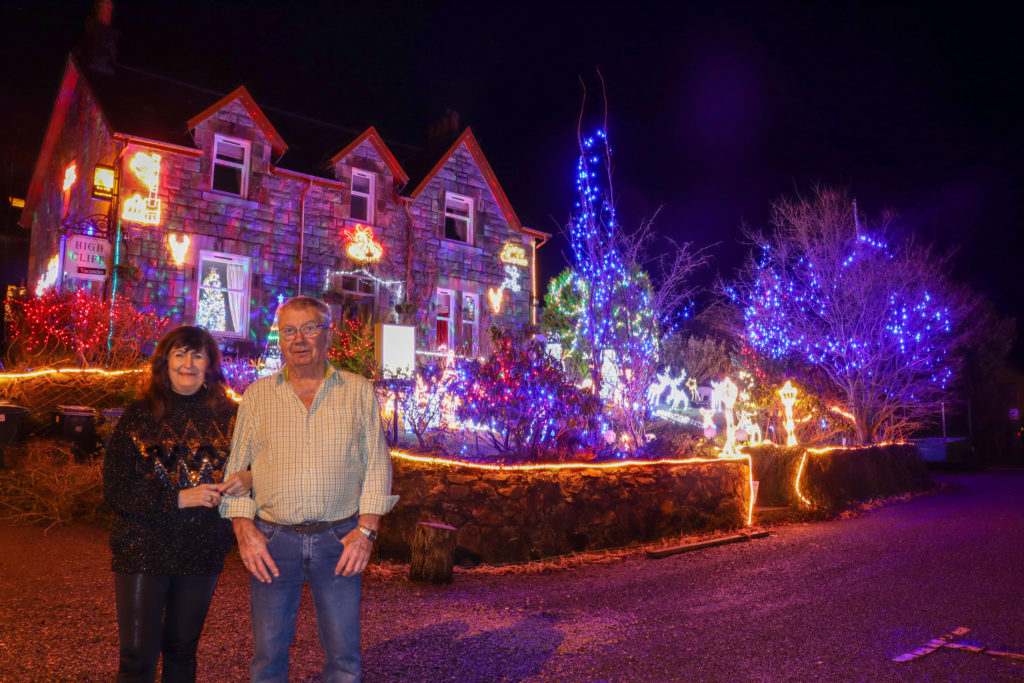 Is this the best Christmas light display in Oban?