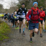 A good field braved wind and rain for the recent LAC Cour Loop race at Nevis Range. Photograph: Iain Ferguson, alba.photos NO F51 LAC COUR LOOP RACE 01