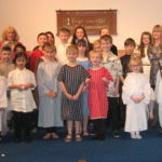 St Bride's Primary School held its annual Christmas concert and nativity play at Onich. NO F51 St Brides nativity 01