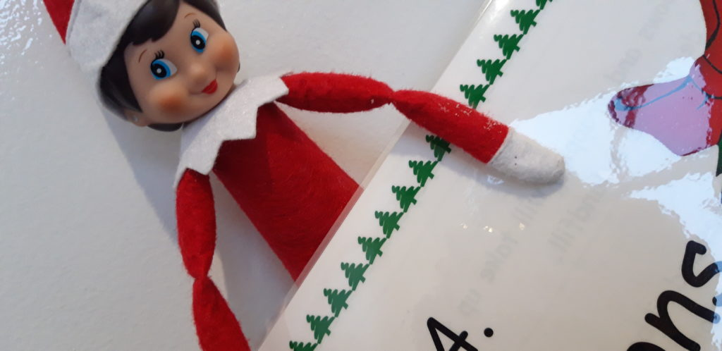 Santa's plea for Lochaber youngsters to find mischevious elves