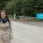 Local MSP Kate Forbes, at the entrance to the car park for the National Trust for Scotland visitor centre at Glenfinnan, off the A830, says she is delighted the new speed limit will be in force by the end of March. NO F52 KF Glenfinnan NTS junction