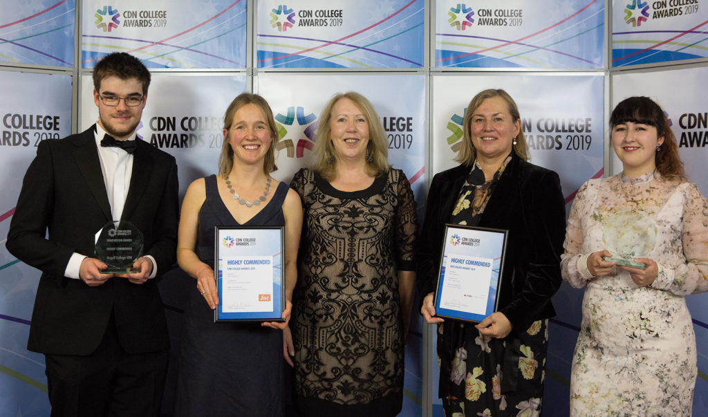 Argyll College comes highly commended