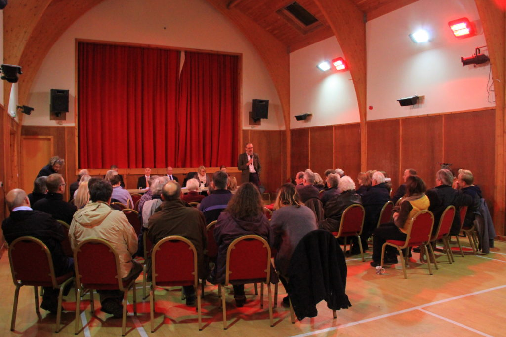 Argyll and Bute candidates questioned at Mull hustings