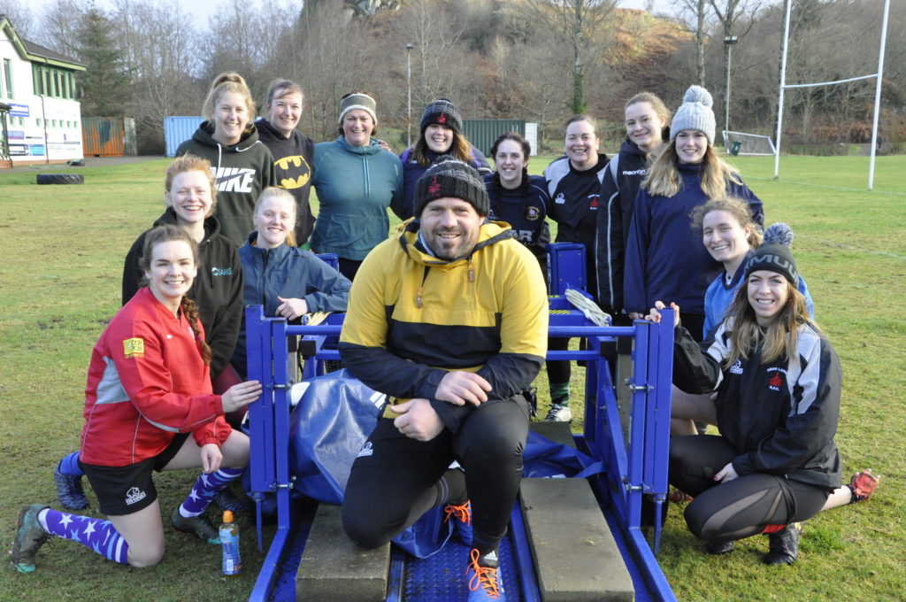 Rejuvenated rugby ladies have appetite for plate