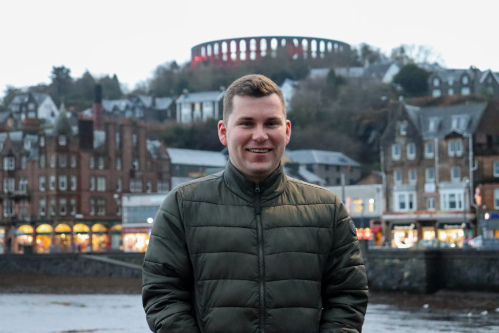 Oban firefighter urges others to donate stem cells