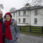 Australian visitors Ross and Susie McKinnon were back in Scotland over the festive season in search of past Caledonian Canal connections at Neptune's Staircase. Photograph: Iain Ferguson, alba.photos NO F02 CANAL HERITAGE 02