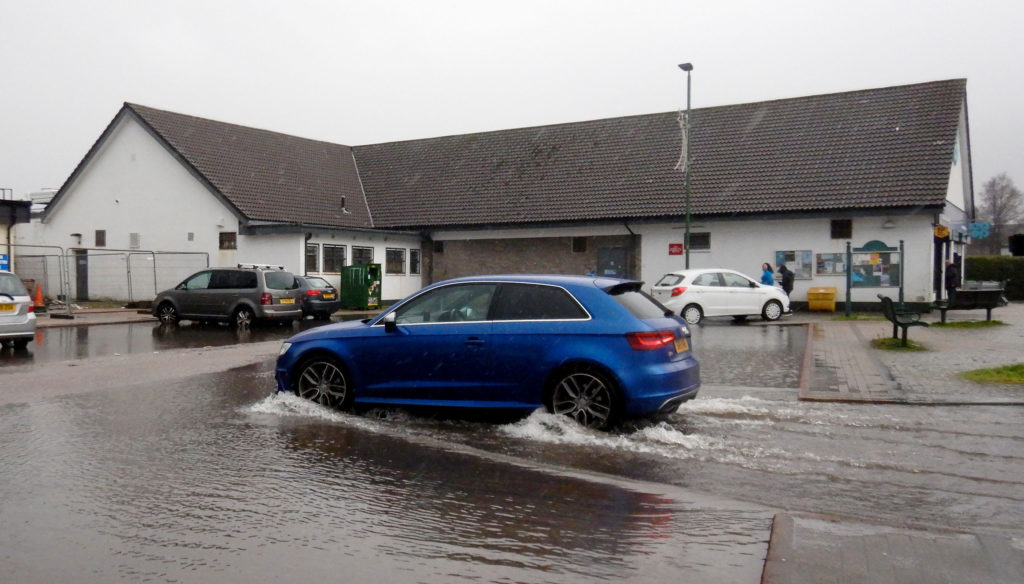 Big business inaction leads to Caol car park flood