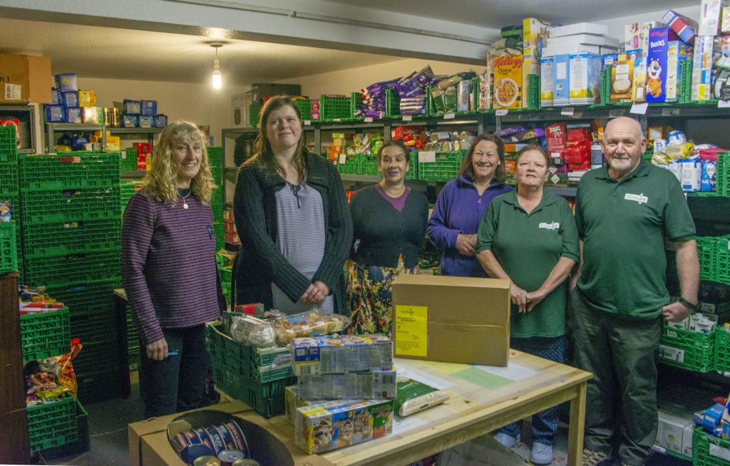 Lochaber Foodbank 'overwhelmed' with donations over Christmas