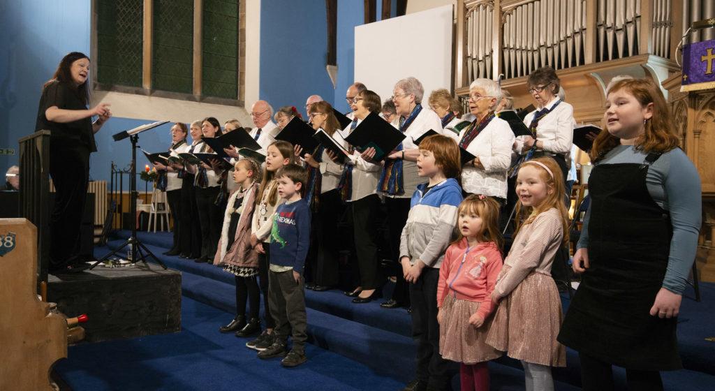 Kilmallie Singers take crowd on a Christmas journey through song