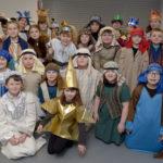 Some of the cast members at St Columba's RC Primary School Christmas Show. Photograph: Iain Ferguson, alba.photos NO F02 St Columba Show 11