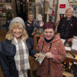West Highland Museum Manager, Colleen Barker (right) presents a small memento to Carole Abel, who was the 60,000th visitor of 2019. Photograph: Iain Ferguson, Alba.photos NO-F02-WHM-60-thousand.jpg