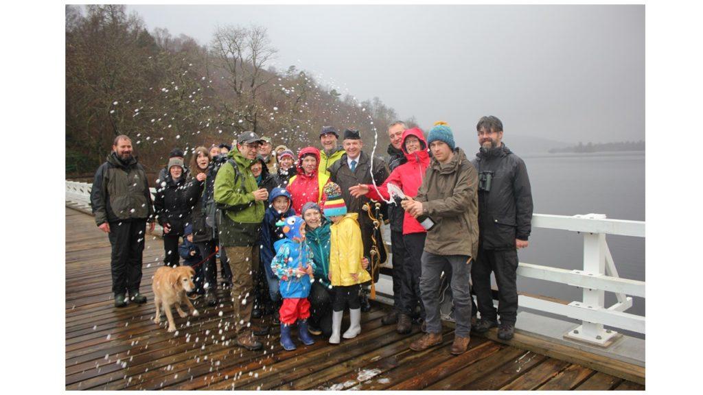 NO F02 White Bridge Reopening Celebration