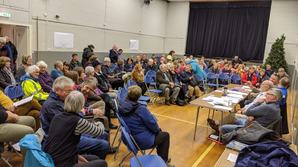 Locals come out unanimously against Ballachulish peninsula development