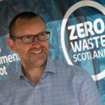 Iain Gulland, chief executive of Zero Waste Scotland, says environmentally-friendly buildings and infrastructure are needed now more than ever. Photogtraph: © Warren Media 2015. NO-F03-Iain-Gulland-ZWS.jpg