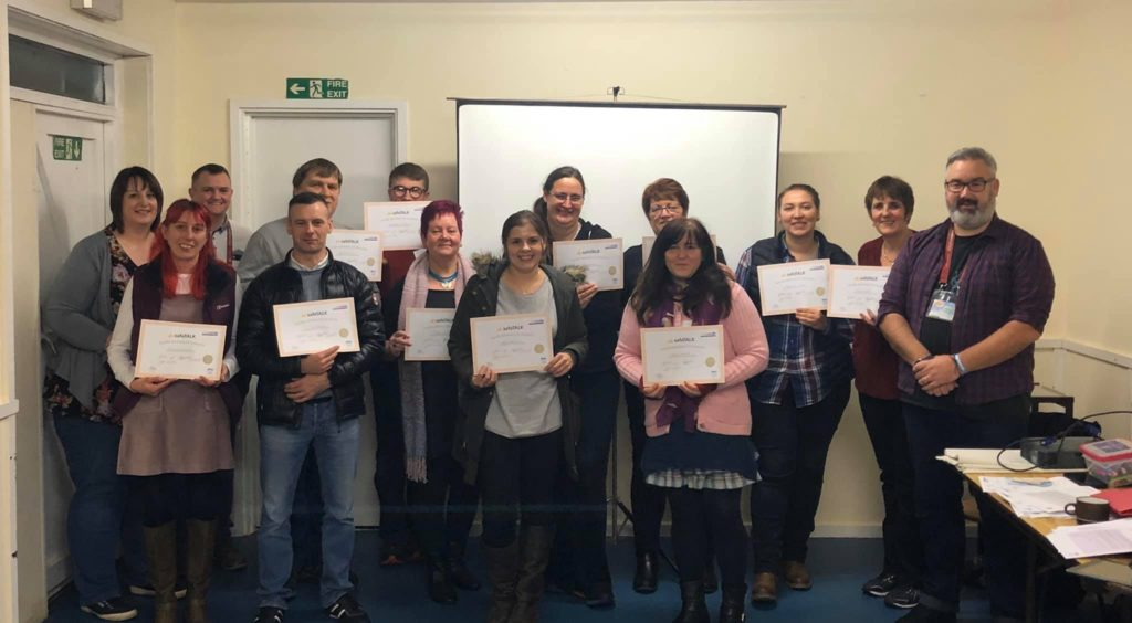 Lochaber MindFit volunteers attend suicide awareness event