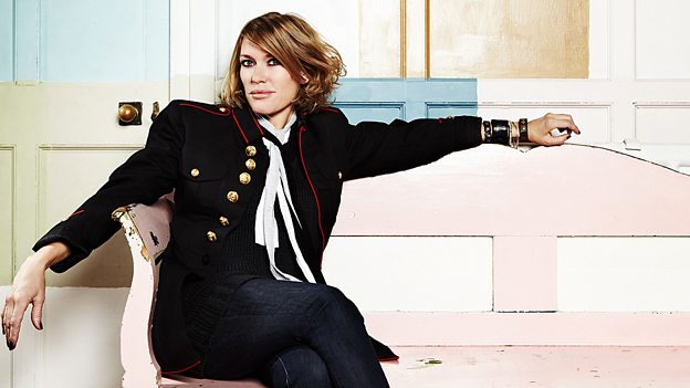 Cerys Matthews gave a shout out to the Wildcat cafe in Fort William on her BBC music show on Sunday. Photograph: BBC. NO F04 Cerys Matthews