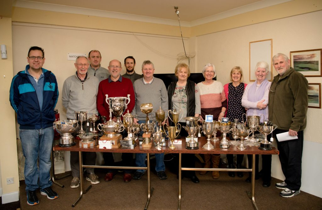 Fort William Golf Club holds trophy winners event