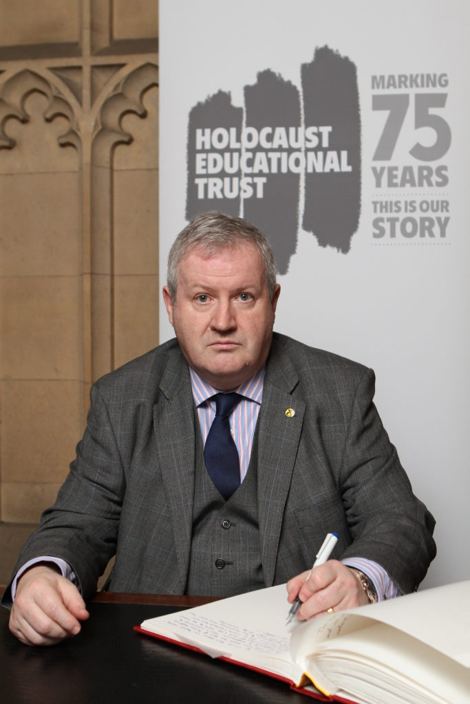 Blackford marks Holocaust Memorial Day