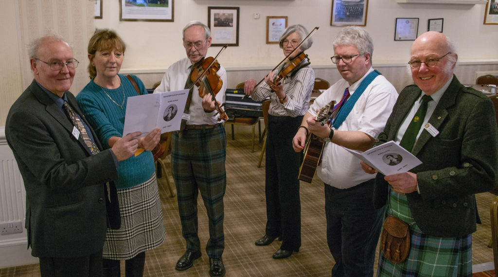Lochaber Rotary celebrates the Bard in style
