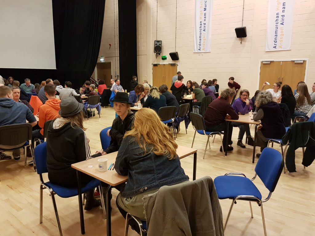 Big quiz attracts 48 teams from across Ardnamurchan