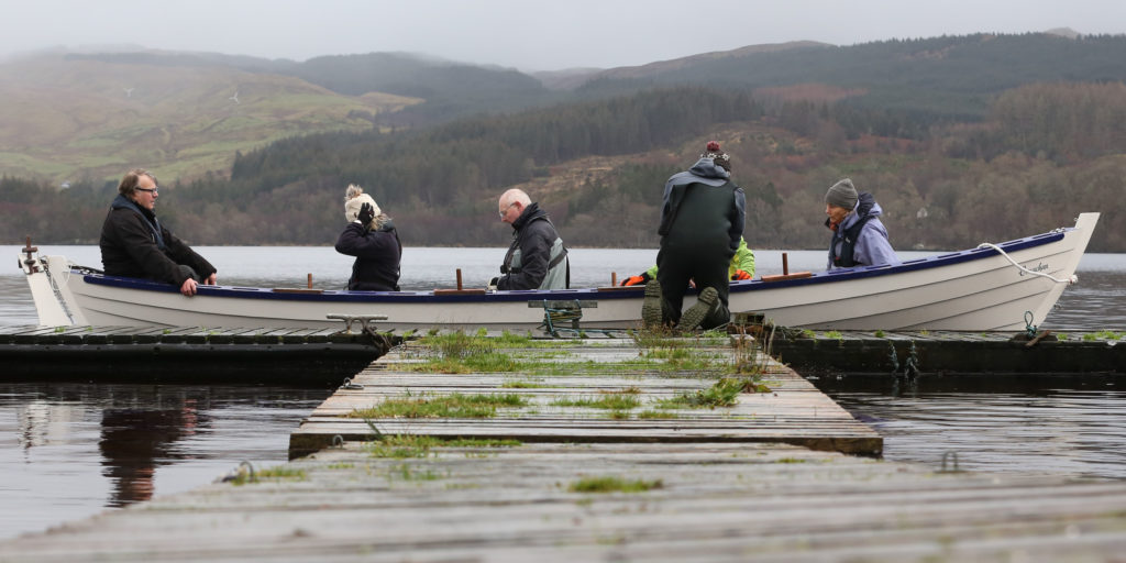 New Year launches name change for Loch Awe rowers