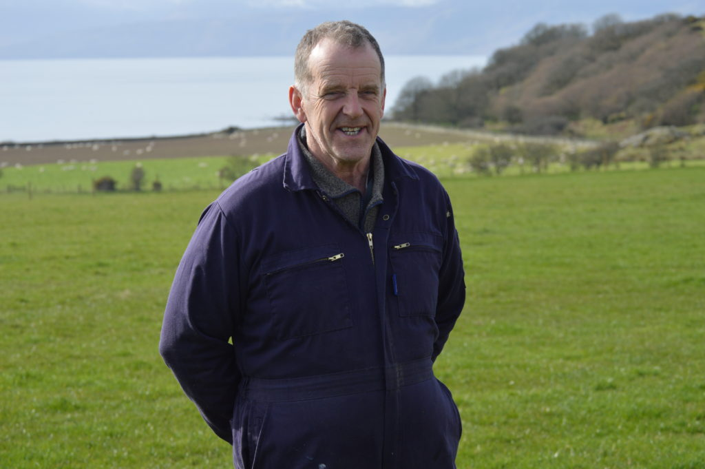 NFUS Argyll and the Isles regional board chairman John Dickson.