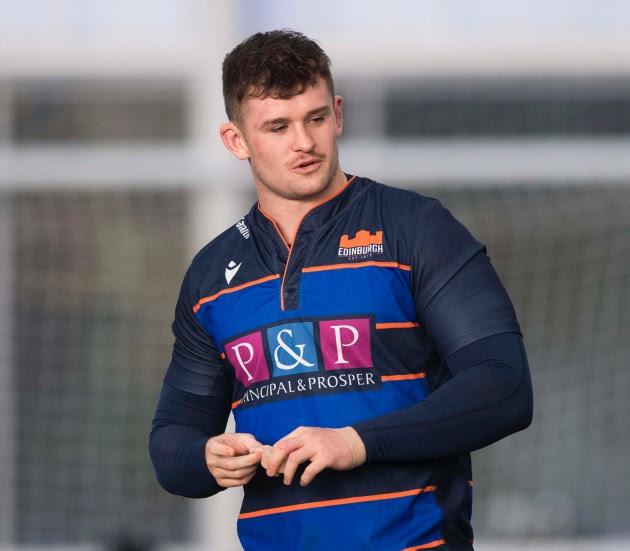Edinburgh Rugby re-sign Magnus Bradbury