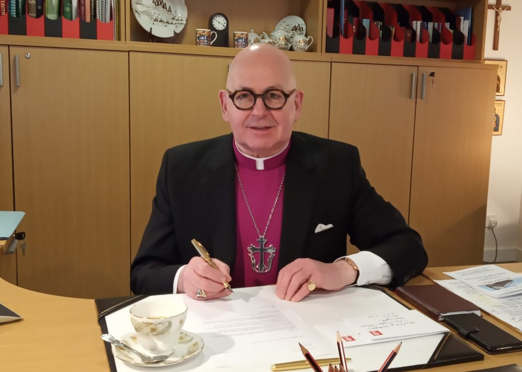 Argyll and the Isles Bishop has new post