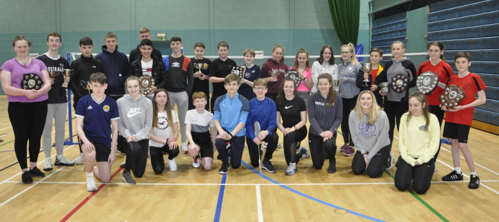 Shuttle service for Argyll youngsters at Scottish Schools badminton qualifiers