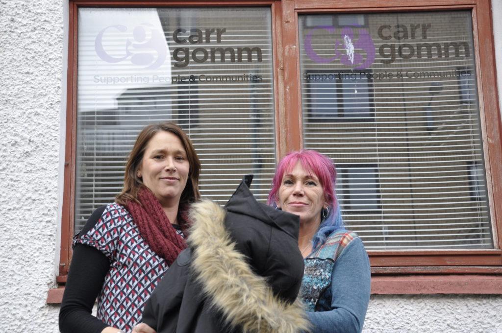 Susan Colin and Jayne Donn at Carr Gomm Oban. 17_t07_CarrGomm01