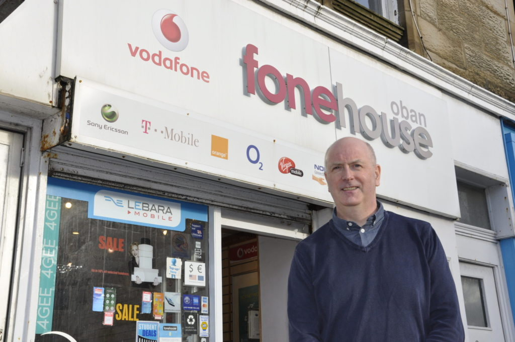 Owner calls it a day on Oban phone shop