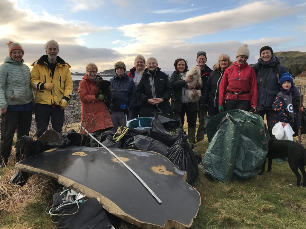 Beachwatch cleans up on Seil