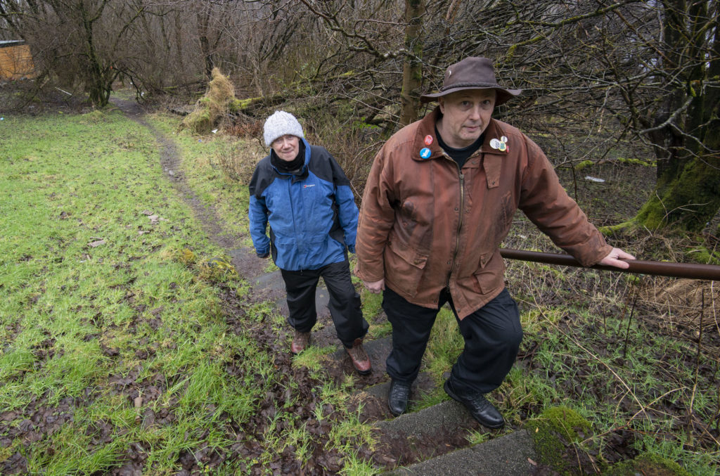 Plans to improve path systems in Upper Achintore