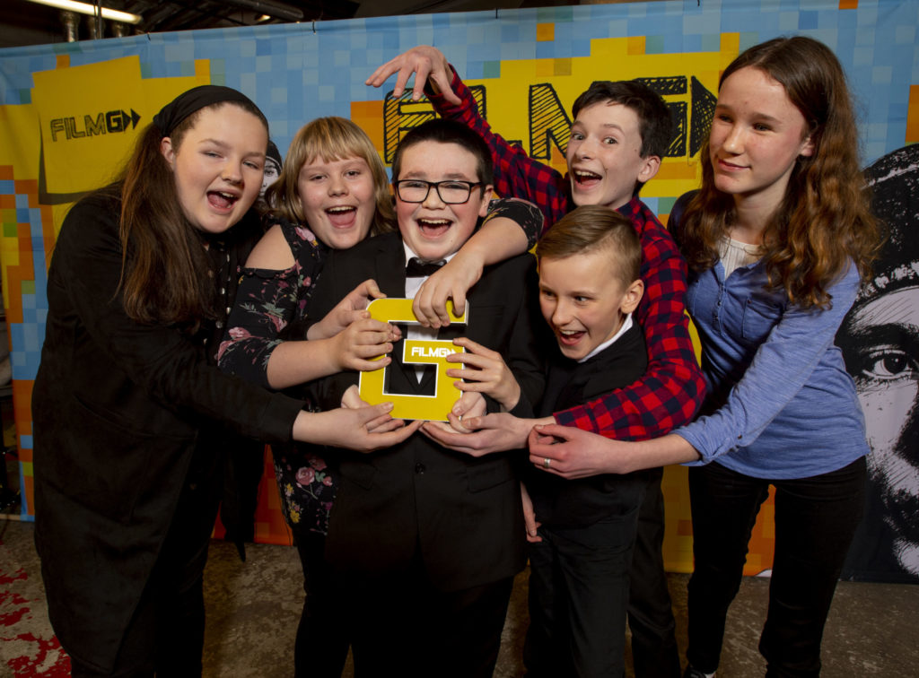 Ardnamurchan High collects two awards as islanders are successful at FilmG ceremony