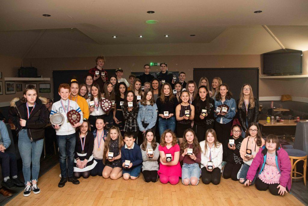 Lochaber's young swim team stars enjoy awards night