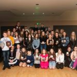 Lochaber Leisure Centre Swim Team held its annual awards night last week. Photograph: Abrightside Photography. NO F09 Lochaber swim team award winners evening
