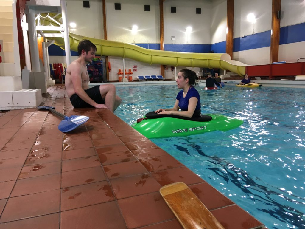 Making the most of indoor winter sports